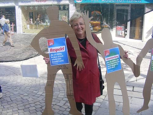 "Inge Howe am ""Sozialen Netz"""